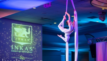 aerialist corporate events