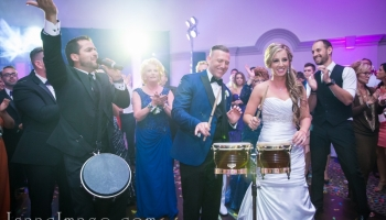 Bongos at Wedding