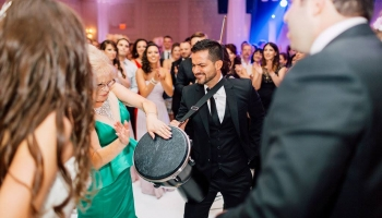 party time wedding bongos